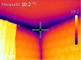 Indagini termografiche termografia diagnosi energetiche - Muffa sui muri esterni ...